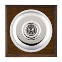 Hamilton Bloomsbury Chamfered Dark Oak with White Trim Switches