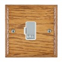Hamilton Woods Ovolo Medium Oak with White Trim Spur Units