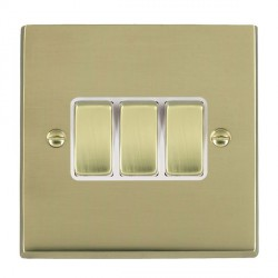 Hamilton Cheriton Victorian Polished Brass with White Insert...