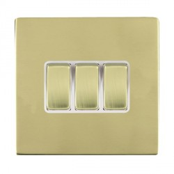 Hamilton Sheer CFX Polished Brass with White Inserts