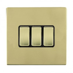 Hamilton Sheer CFX Polished Brass with Black Inserts