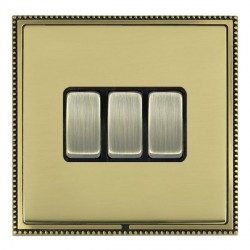 Hamilton Linea-Perlina CFX Antique Brass/Polished Brass with...
