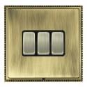 Hamilton Linea-Perlina CFX Antique Brass/Antique Brass with Black Inserts