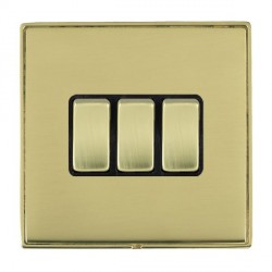 Hamilton Linea-Duo CFX Polished Brass/Polished Brass with Bl...