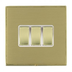 Hamilton Linea-Duo CFX Polished Brass/Satin Brass with White...