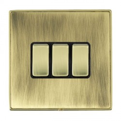 Hamilton Linea-Duo CFX Polished Brass/Antique Brass with Bla...