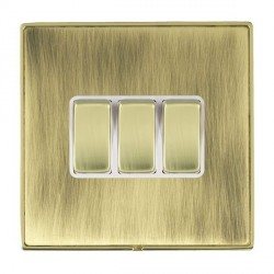 Hamilton Linea-Duo CFX Polished Brass/Antique Brass with Whi...
