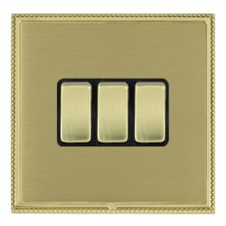 Hamilton Linea-Perlina CFX Polished Brass/Satin Brass with B...