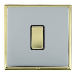 Hamilton Linea-Scala CFX Polished Brass/Bright Steel with Bl...