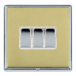 Hamilton Linea-Rondo CFX Bright Chrome/Polished Brass with W...