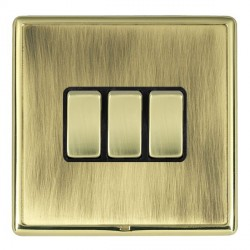 Hamilton Linea-Rondo CFX Polished Brass/Antique Brass with B...