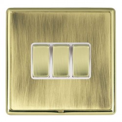 Hamilton Linea-Rondo CFX Polished Brass/Antique Brass with W...
