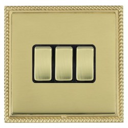 Hamilton Linea-Georgian CFX Polished Brass/Polished Brass wi...