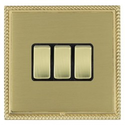 Hamilton Linea-Georgian CFX Polished Brass/Satin Brass with ...