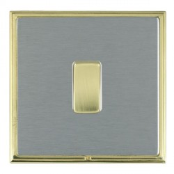 Hamilton Linea-Scala CFX Polished Brass/Satin Steel with Whi...