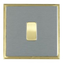 Hamilton Linea-Scala CFX Satin Brass/Satin Steel with White ...