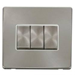 Click Definity Screwless Brushed Steel with Brushed Steel In...