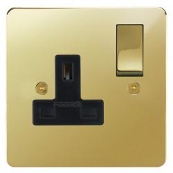 Focus SB Horizon Polished Brass With Black Inserts