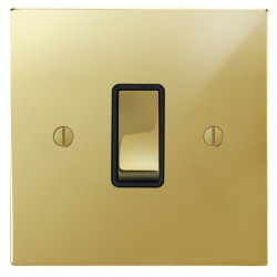 Focus SB Ambassador Square Corners Polished Brass With Black...