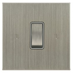 Focus SB Ambassador Square Corners Satin Nickel With White I...