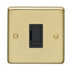 Eurolite Stainless Steel Satin Brass Switches and Sockets wi...