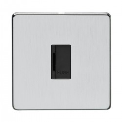 Eurolite Concealed Fix Flat Plate Satin Chrome Switches and ...