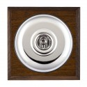 Hamilton Bloomsbury Chamfered Dark Oak Toggle Switches