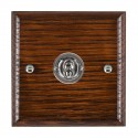 Hamilton Woods Ovolo Antique Mahogany Toggle Switches