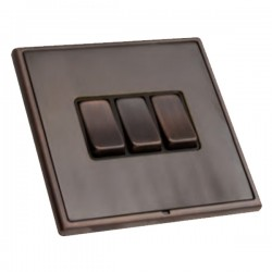 Hamilton Linea-Rondo CFX Etrium Bronze with Black Inserts