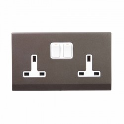 Retrotouch Simplicity Charcoal Switches and Sockets