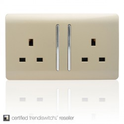 Trendi Gold Switches and Sockets