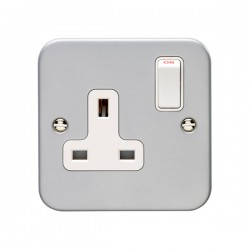 Eurolite Metal Clad Switches and Sockets