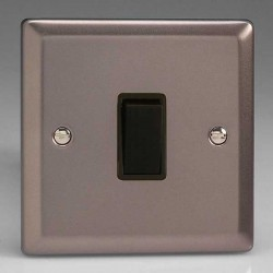 Varilight Classic Pewter Effect with Black Inserts