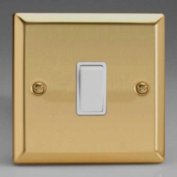 Varilight Classic Victorian Brass with White Inserts