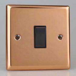 Varilight Urban Polished Copper with Black Inserts