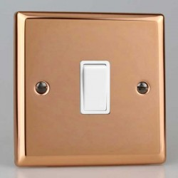 Varilight Urban Polished Copper with White Inserts