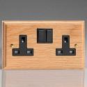Varilight Kilnwood Switches and Sockets