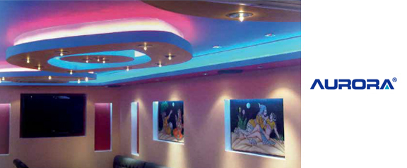 Led strip ideas at uk electrical supplies aurora high densitybrightness colour changing mozeypictures Choice Image