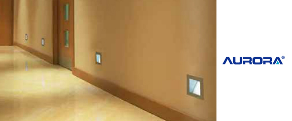 Aurora Pressed Steel LED Wall Light