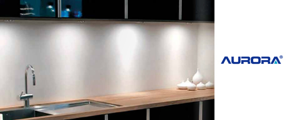Aurora Fixed Compact Flourescent Cabinet Light