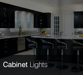 From big to small, we have all sorts of cabinet lights to fit your needs