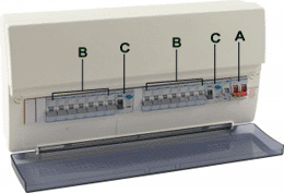 guide to consumer units at uk electrical supplies Fuse Box Diagram modern consumer unit