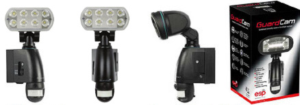 Esp Guardcam Led Security Floodlight With Camera Pir And