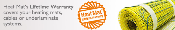 Heat Mat Life Time Warranty