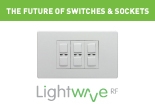 LightwaveRF Smartphone Connected Switches and Sockets at UK Electrical Supplies