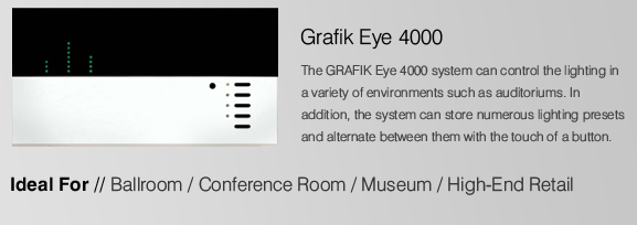 Lutron Grafik Eye 4000 At Uk Electrical Supplies