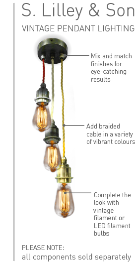 Vintage Pendant Lighting