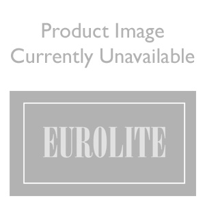 Eurolite Enhance Polished Chrome 400W 2 Way Push On/Off Dimmer Switch Module with Black and White Inserts
