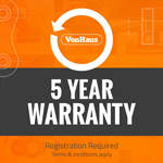 VonHaus 5 year warranty
