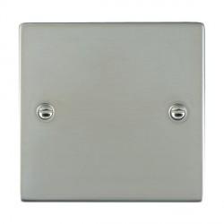 Hamilton Sheer Bright Steel Single Blank Plate